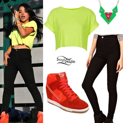 c2702eb859e Becky G  OMG can someone please tell me where she gets her clothes  AND  DON T SAY