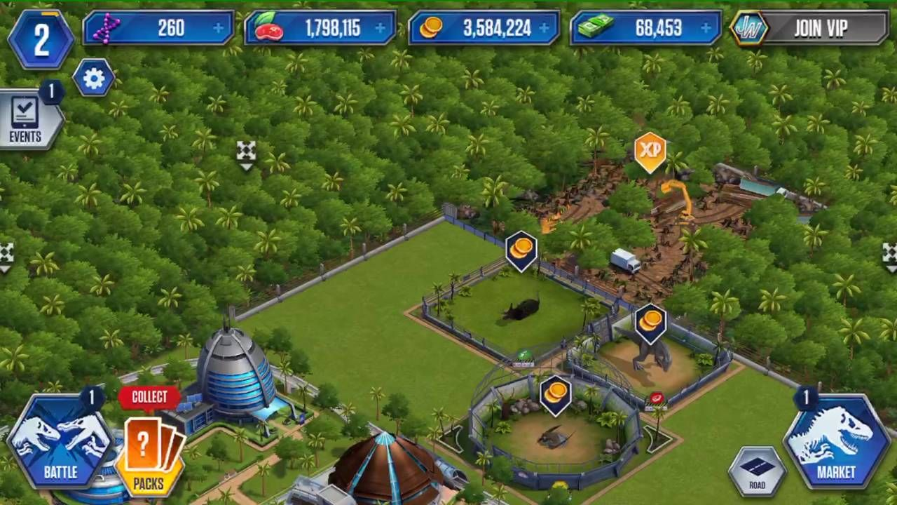 jurassic park mod apk 2018 mod apk jurassic world the game ...