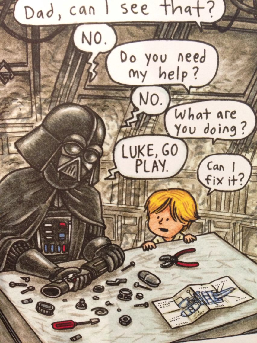 Your Father S Lightsaber Star Wars Comics Funny Star Wars Memes Star Wars Collectors