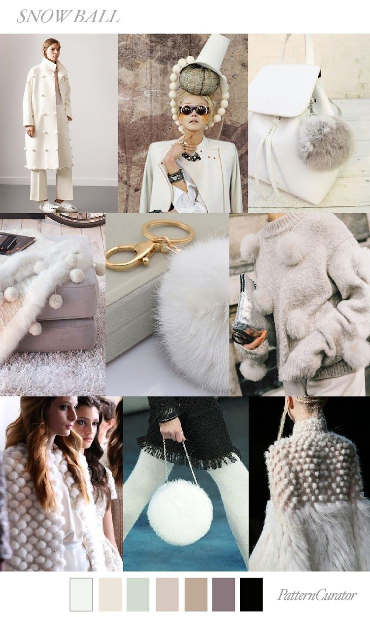 TRENDS // PATTERN CURATOR - SNOWBALL . FW 2018 (FASHION ...