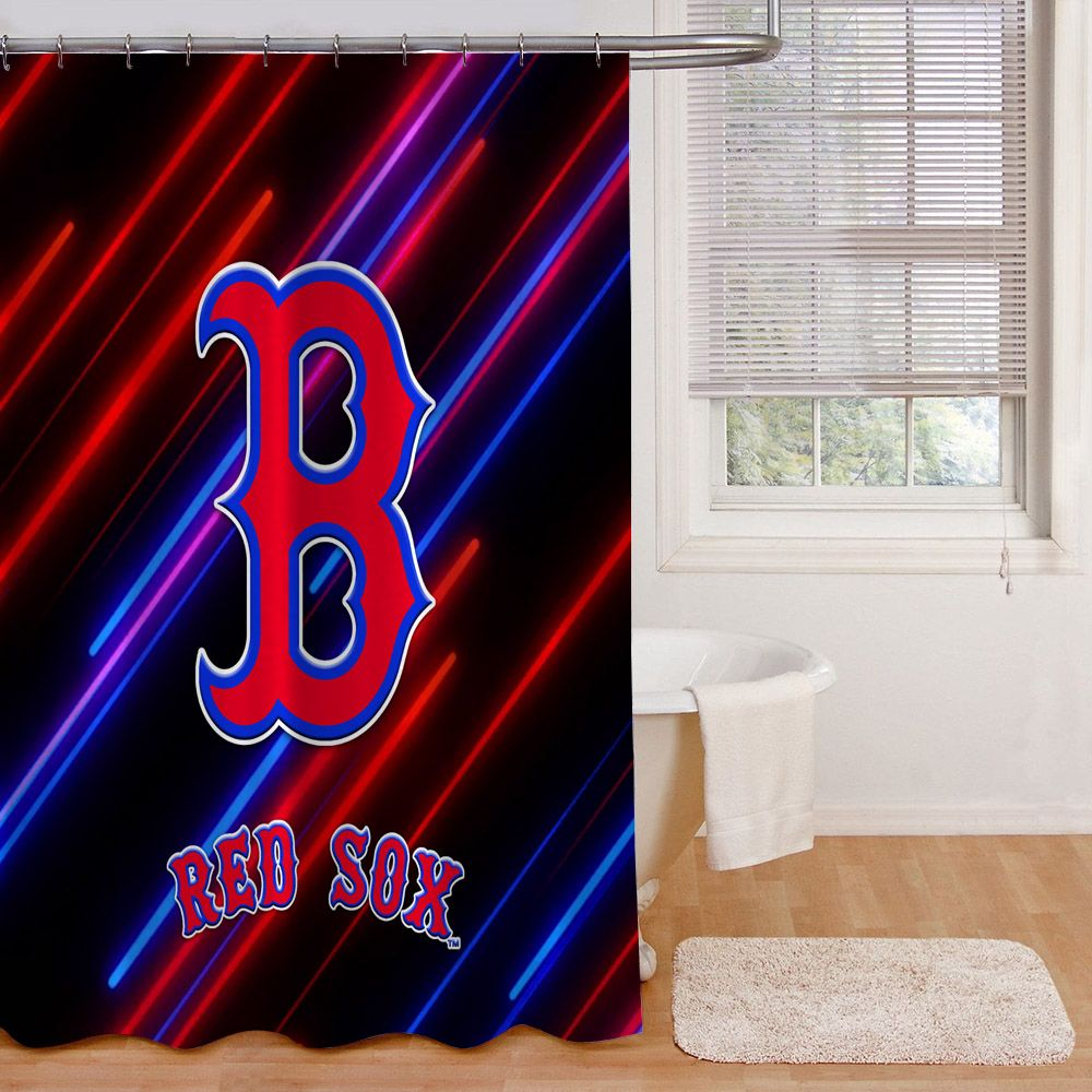 Boston Red Sox Logo Metro Stylish Light Print On Waterproof