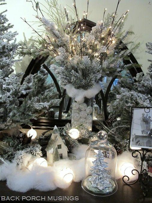Winter Wonderland Table Decorations | Winter White ...