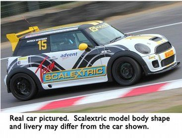 The Scalextric Bmw Mini Cooper S Dpr Is A Scalextric Car Which