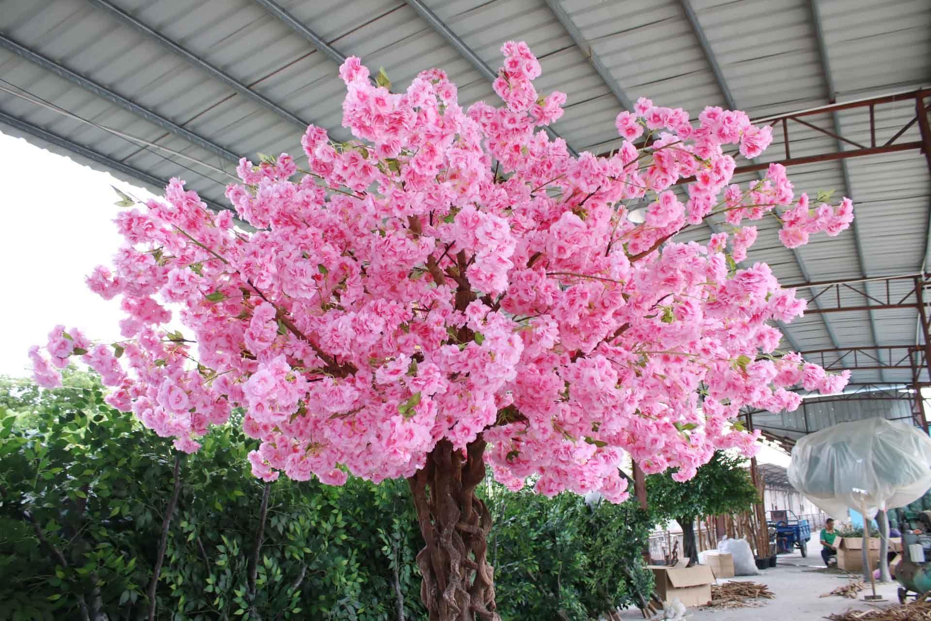 Source Newest Artificial Sakura Flower Tree Japanese Cherry Blossom Tree For Wedding Decoration On M A Blossom Tree Wedding Flowering Trees Cherry Blossom Tree