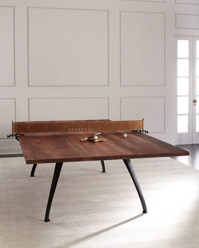 Table Tennis Room Design: Picard Table Tennis Table By Neiman Marcus