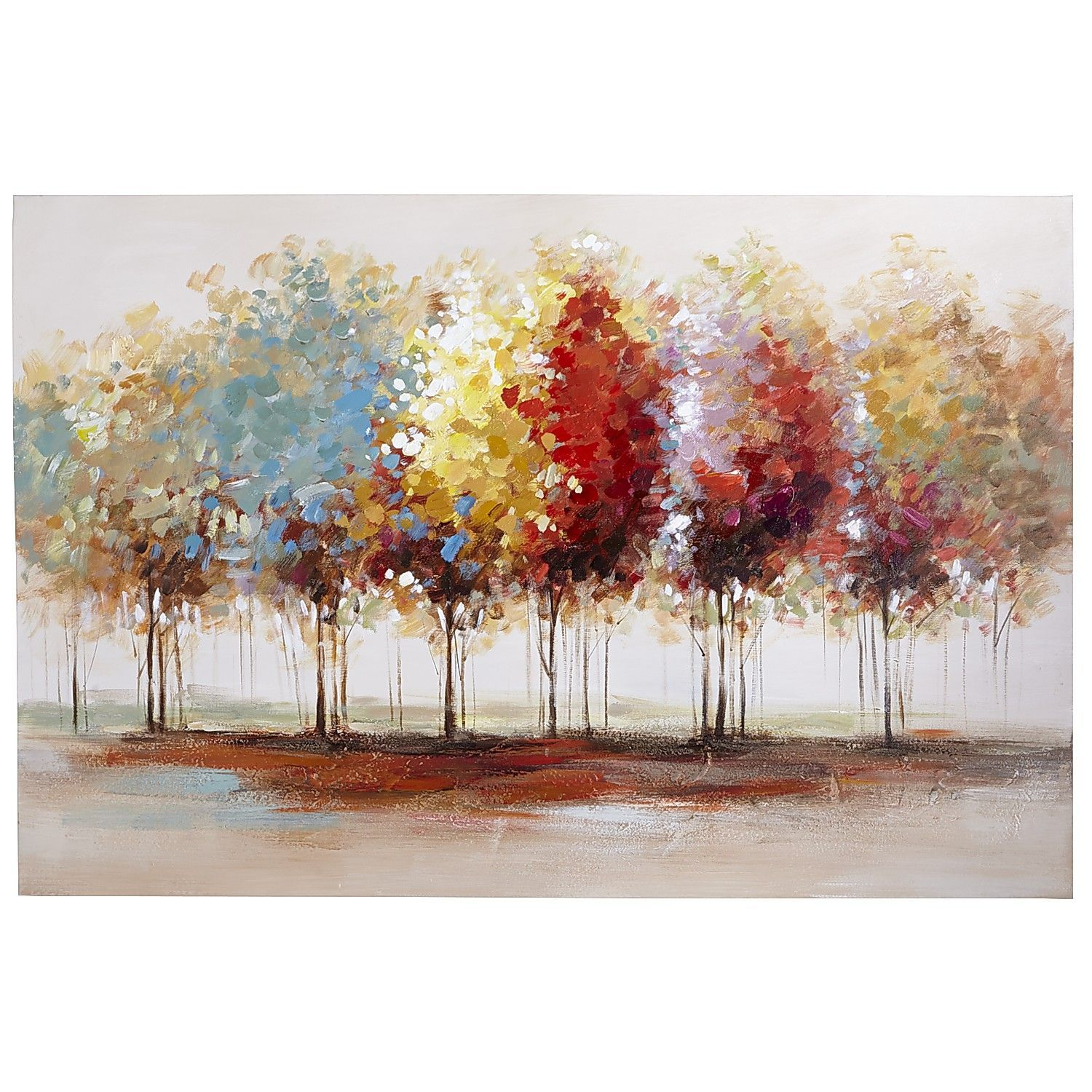 Lively Trees Art - 31x47   Tree art, Paintings and Artwork