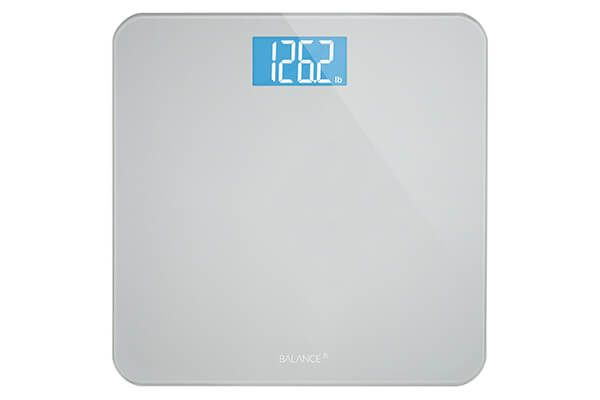 Greater Goods Balance High Accuracy Bathroom Scale With Easy To Read Backlit Lcd