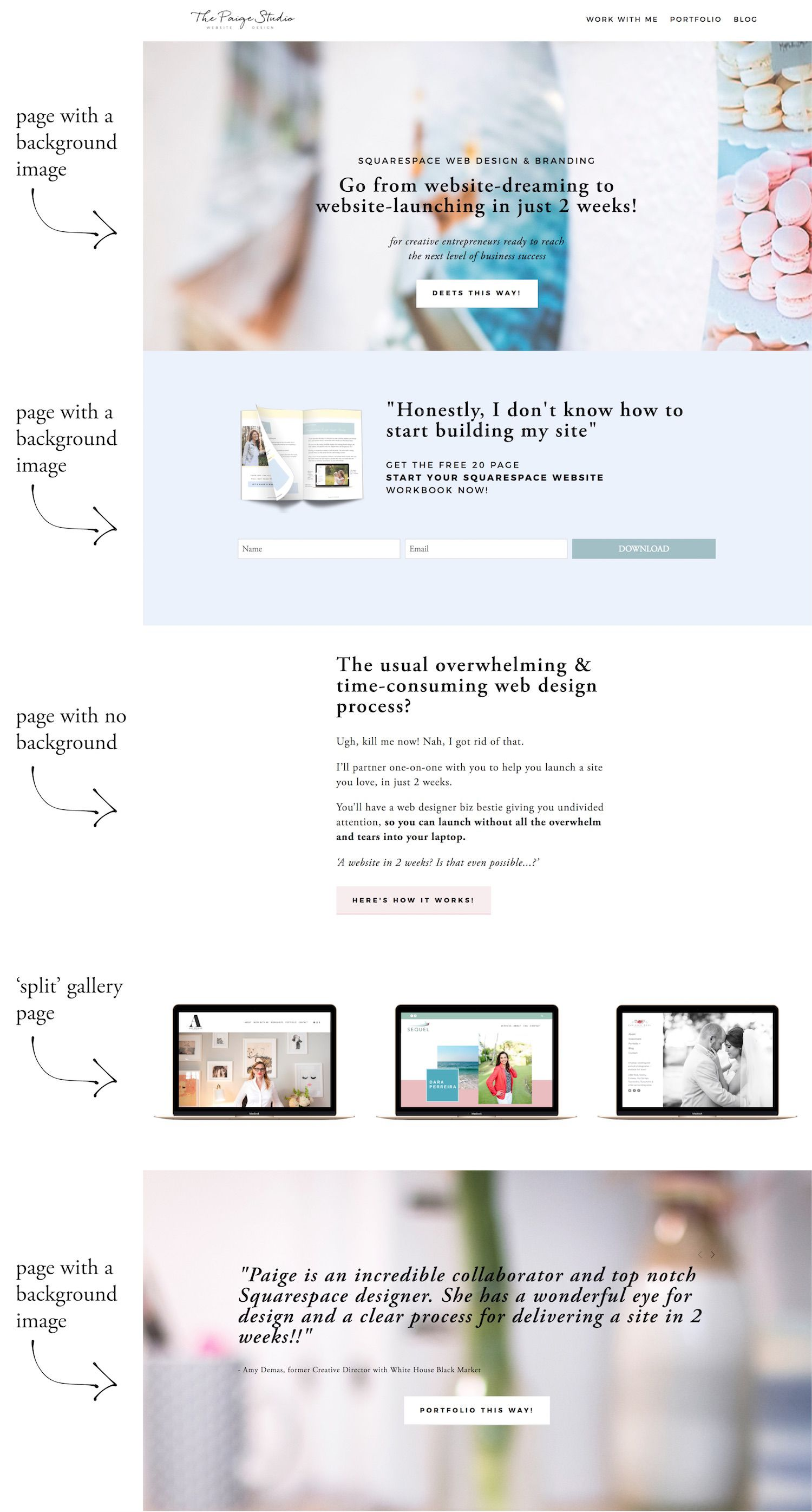 A Beginners Guide To Squarespace Index Pages In 2020 Web Design Quotes Squarespace Web Design Squarespace Website Design