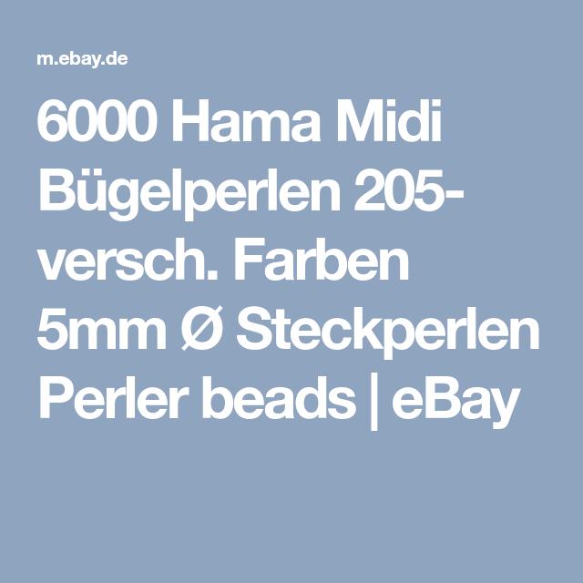 10100x Glitzerperlen Steckperlen Aqua Nachfullbox Bead Bugelperlen