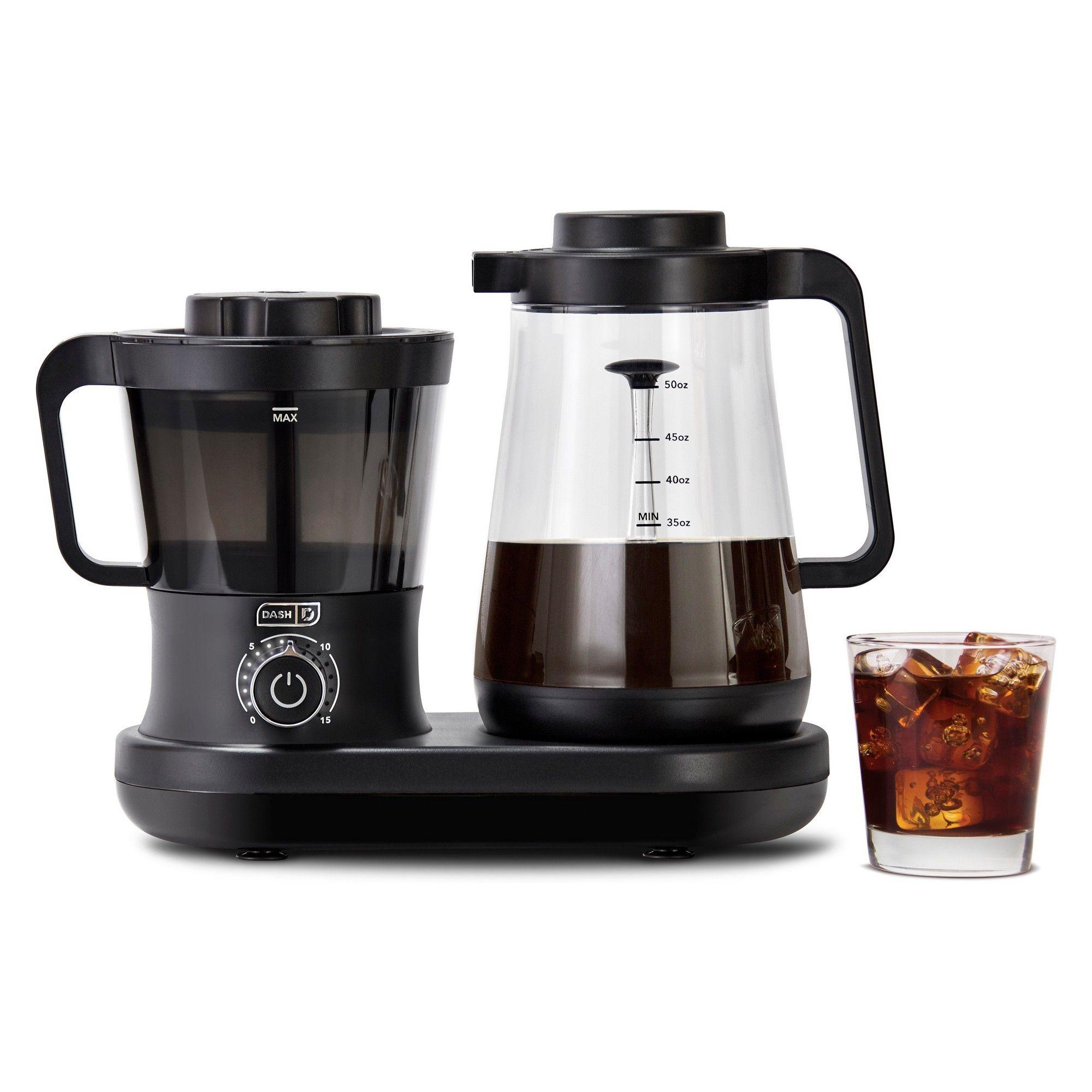 Dash Cold Brew Coffee Maker Black Cold brew coffee