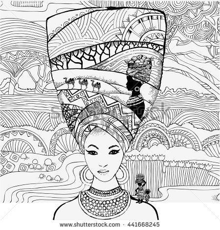 resultado de imagem para keyhole zentangle color libros para african american coloring pages for adults african american coloring pages for adults - African American Coloring Pages