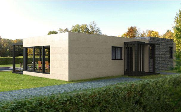 Casas modulares prefabricadas Cube u2013 Cube 100 Modelos estándar de - casas modulares