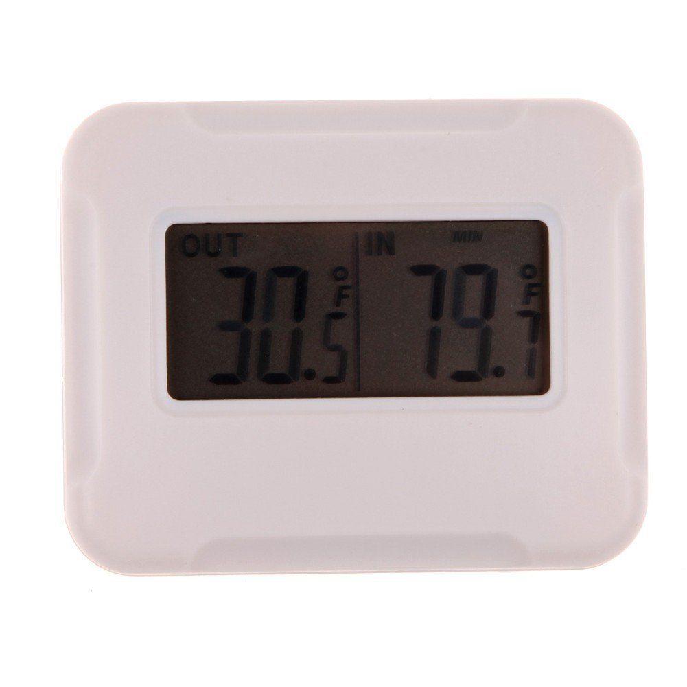 Awakingdemi Digital LCD Thermometer - Indoor outdoor wireless ...