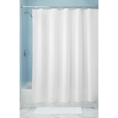 Interdesign 72 X 84 Paxton Shower Curtain In White Products