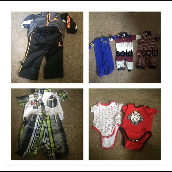 Sold Name Brand Baby Boy Clothes Conditioning Clothes And