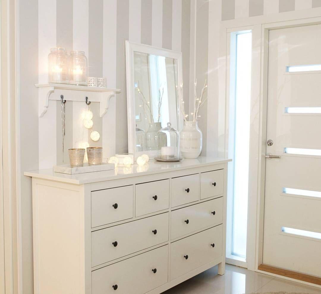 """Gefällt 10.3 Tsd. Mal, 52 Kommentare - @pellavaa_ja_pastellia auf Instagram: """"▫Hallway decoration▫#hallway #home #inspiration #interior #whiteinterior #homedecor #houseandhome…"""" #hallwaydecorations"""
