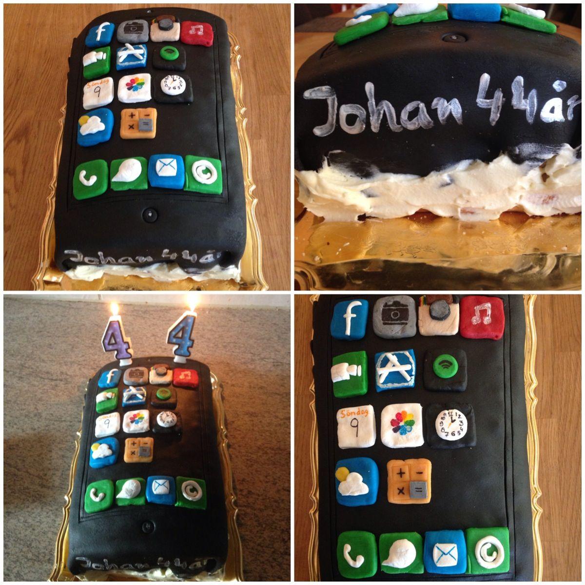 födelsedag app Iphonecake, Iphone, cake, birthday cake, Iphonebirthdaycake  födelsedag app