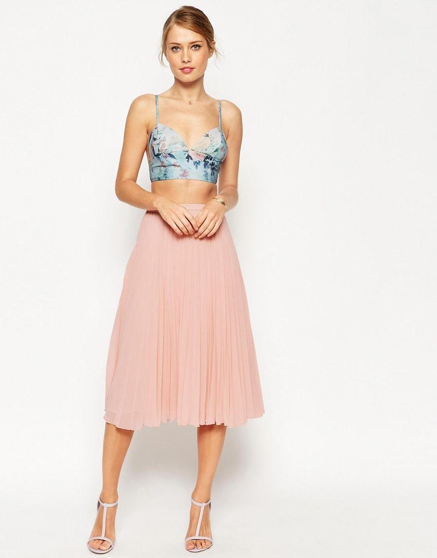 ASOS Pleated Midi Skirt | Skirts, Pleated midi skirt and Love this