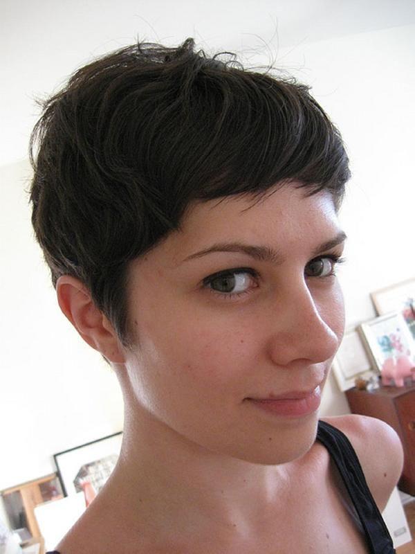 Lesbian short hair sexting