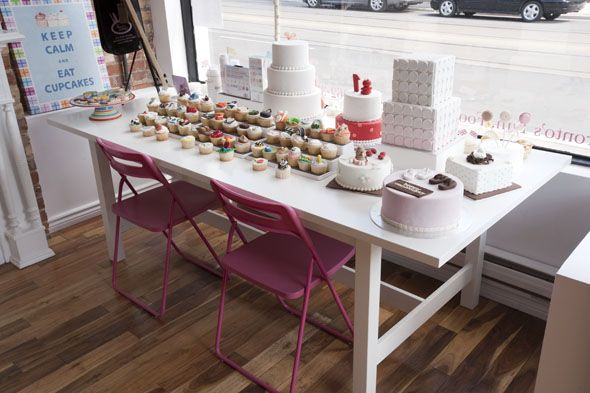 "Le Dolci classes include basics such as ""Introduction to Cupcake Decorating."" Located at 1006 Dundas Street West"