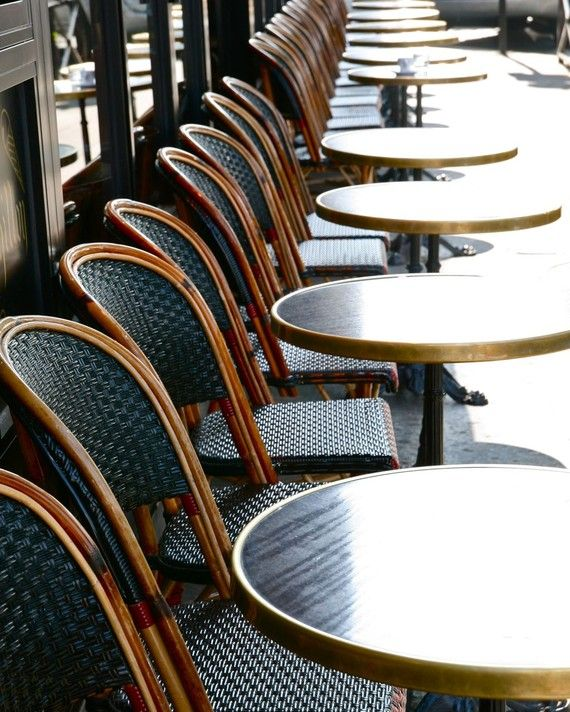 parisian cafe table and chairs sogno massage chair price paris photograph tables in 8 x 10 by vitanostra 30 00