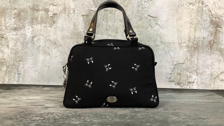 Tabitha Black Cat Purse Gothic Handbag Witchy Small Handbags Goth Bag Things By Ravenesk On Etsy