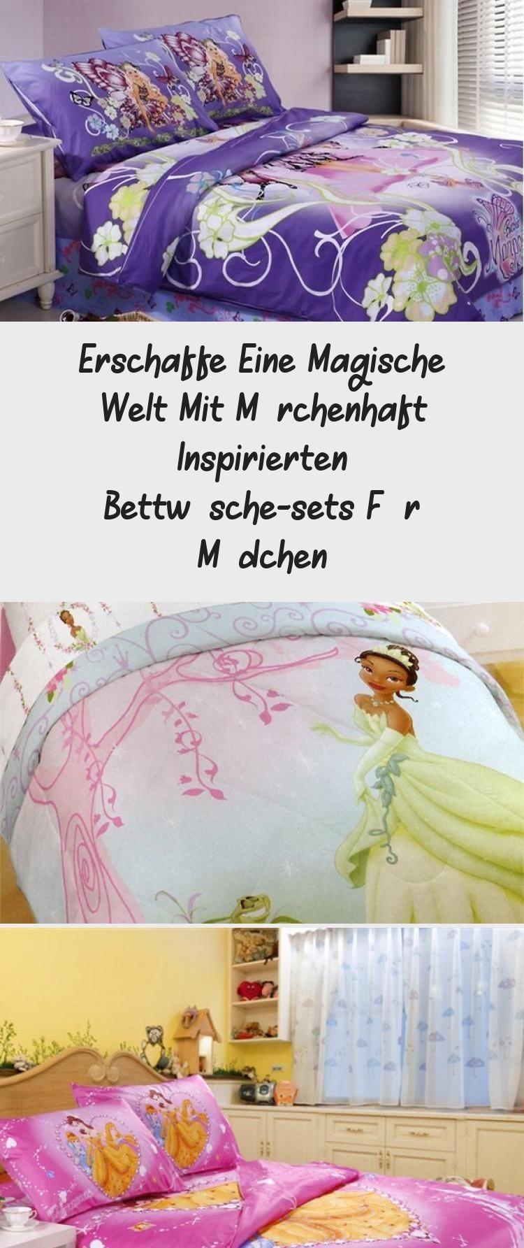 Erschaffe Eine Magische Welt Mit Marchenhaft Inspirierten Bettwasche Sets Fur Madchen In 2020 Bettwasche Inspirieren Madchen Bett