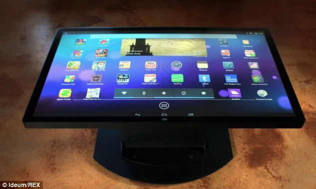 Android Coffee Table; For My New House...The Screen Additionally Has An