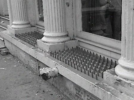 Homeless Spikes Are Now A Thing World Of Wonder Homeless Spike Design
