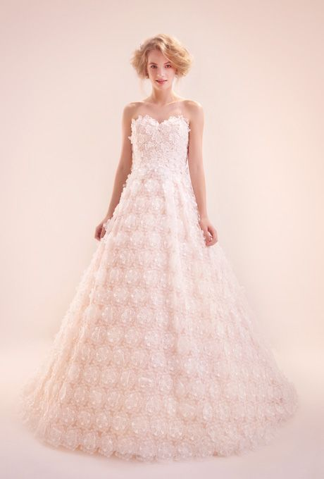 new Alita Graham wedding dresses fall 2012.... in bright white