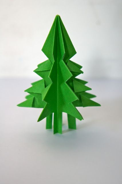 Kerstboom Vouwen Craft Sinterklaas And Christmas Xmas Tree