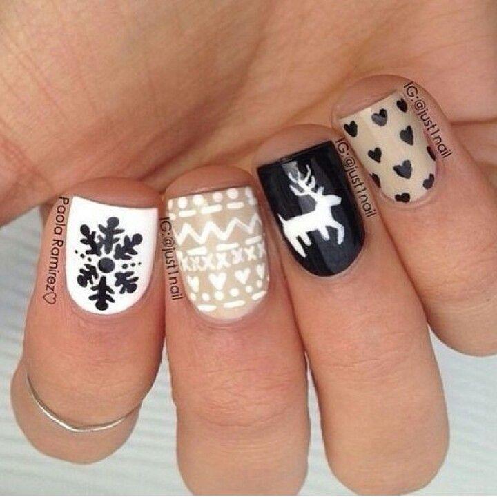 10 Lovely Nail Art Ideas To Brighten Up The Winter Season Winter