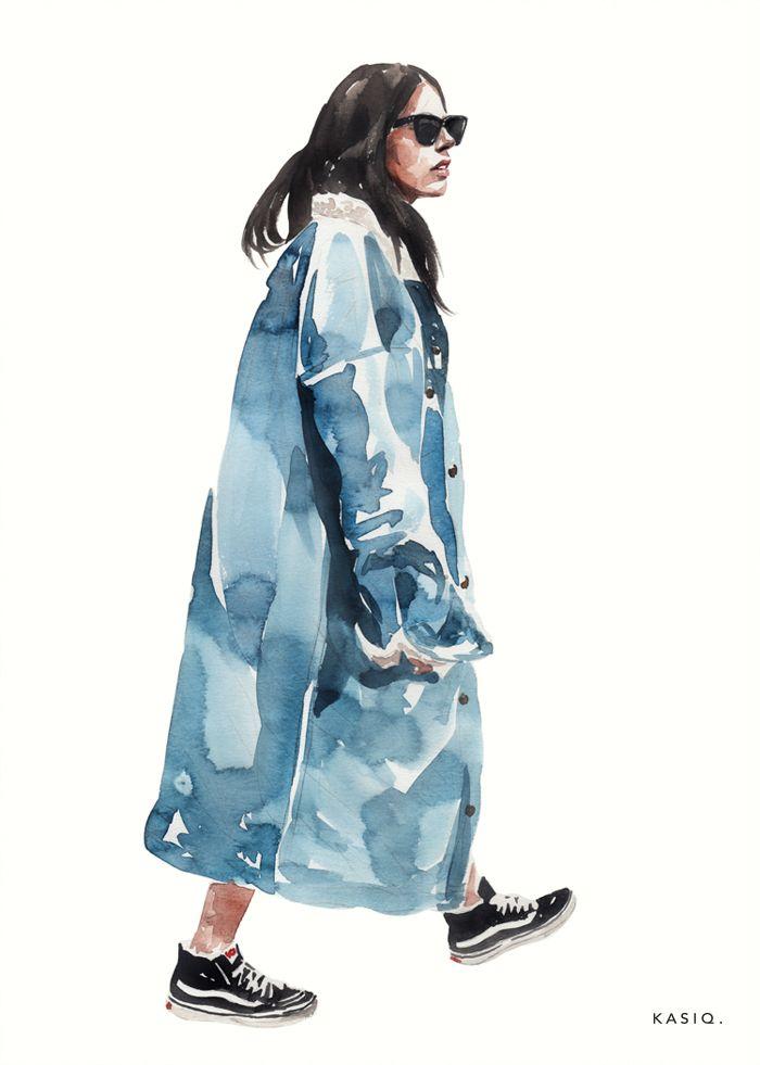 Photo of kasiq Fashion Illustration Series 5