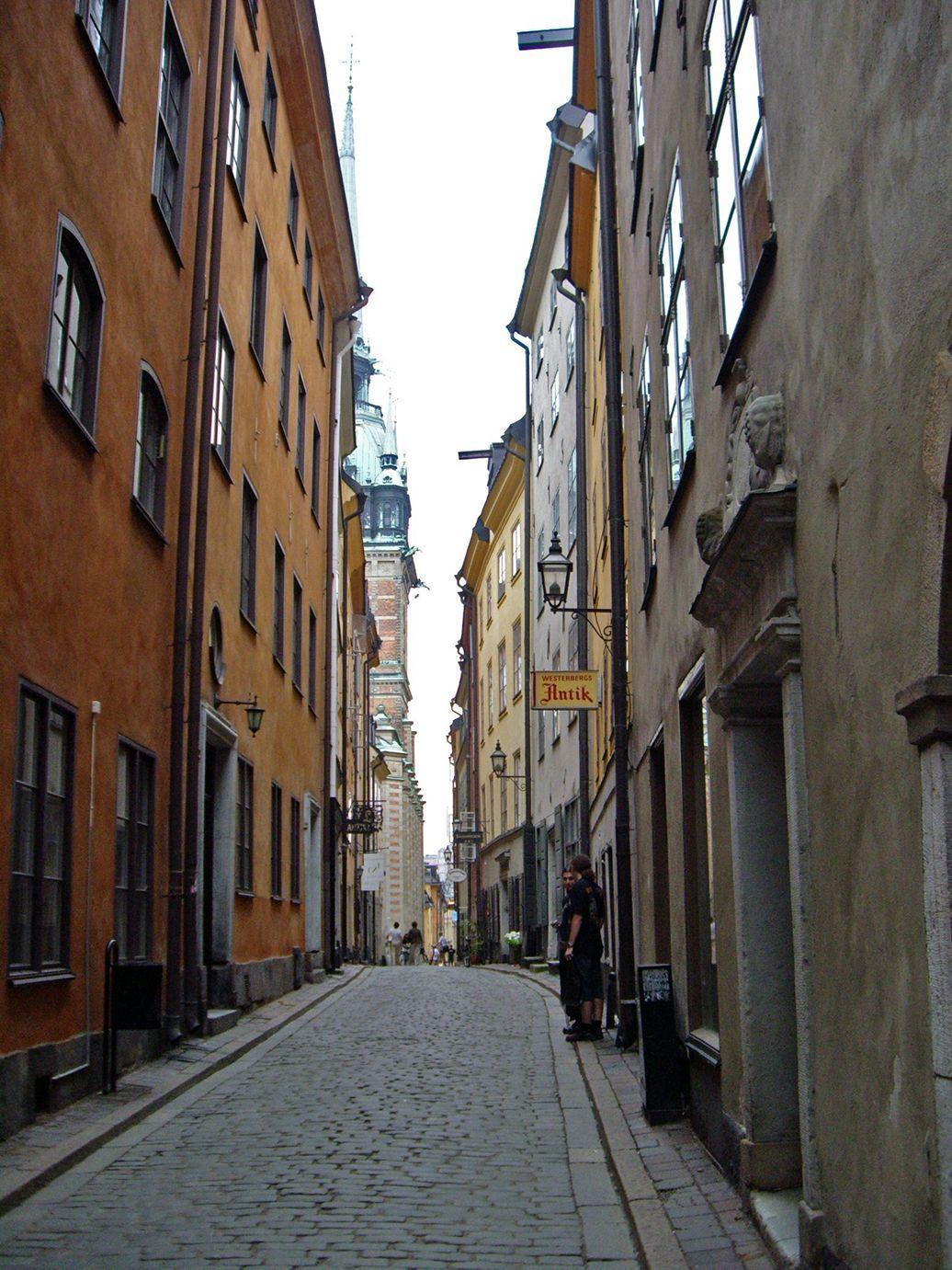 Gamla Stan street, Stockholm