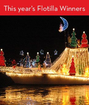 30th Annual North Carolina Holiday Flotilla Wrightsville Beach Nc Thanksgiving Weekend 2017