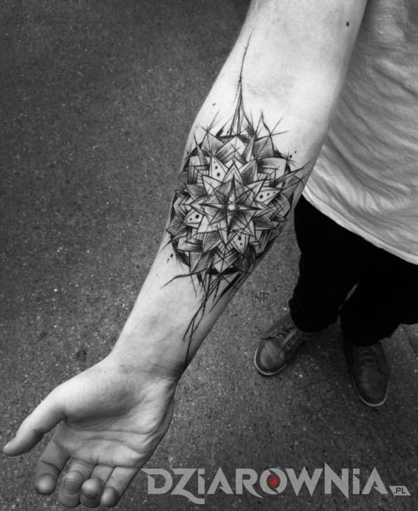 Tatuaże Pozostałe Na Przedramieniu Dla Mężczyzn Tatuaż