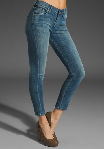 Citizens Of Humanity Jeans Cropped Thompson Medium Rise Skinny in True