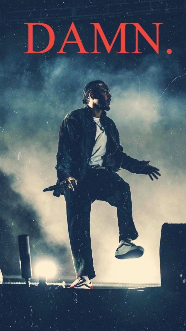 Kendrick Lamar Album Damn Iphone Wallpaper
