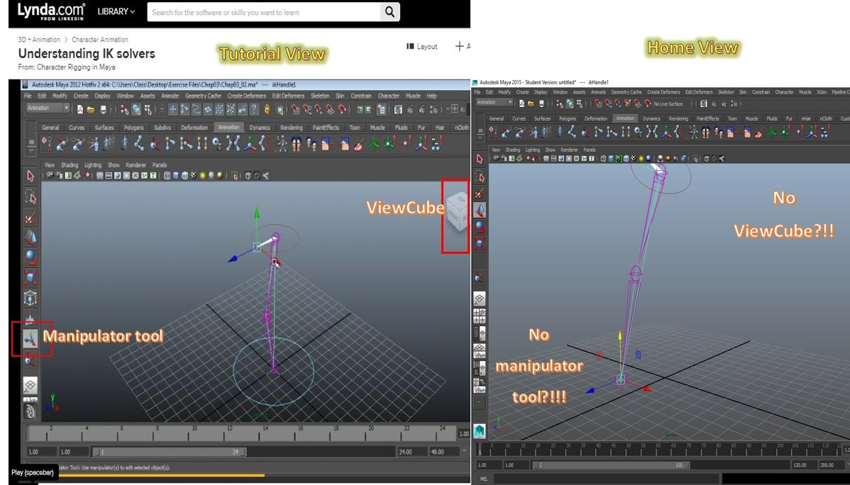 How do I find and set up missing tools? - Autodesk Community- Maya