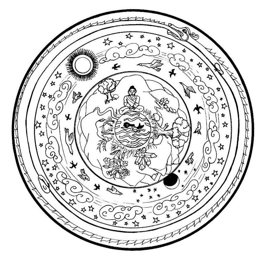 Mandala coloring pages mandalas pinterest mandalas and