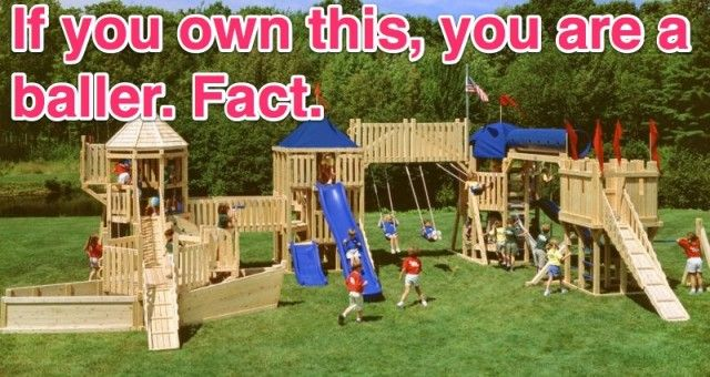 Most Expensive Swing Set Biggest Outdoor Spaces Backyard