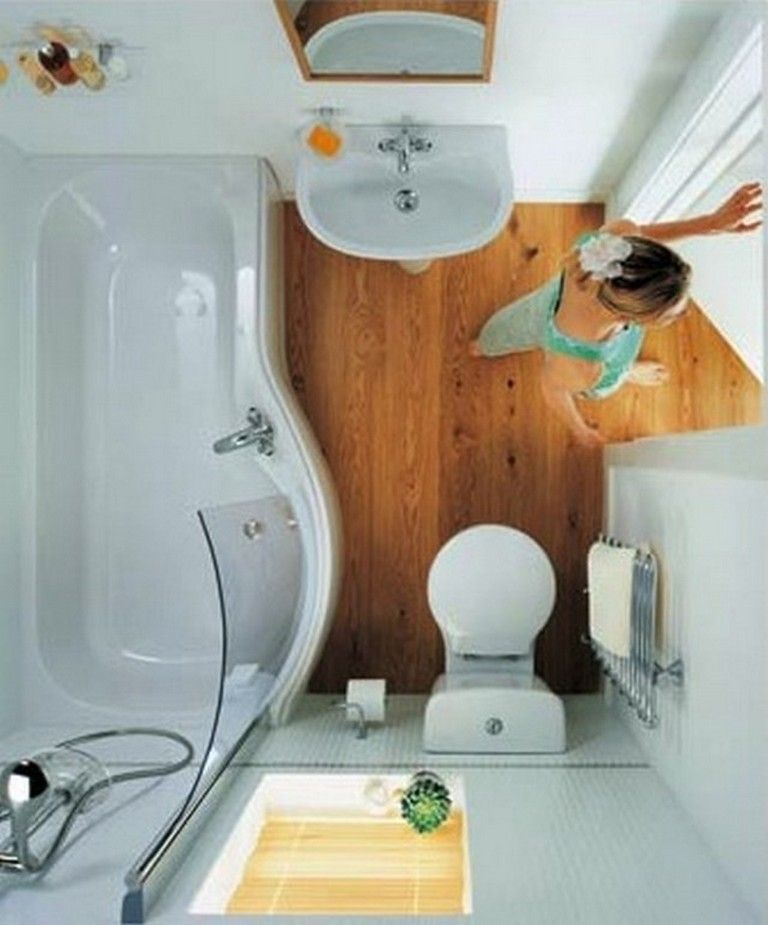 21 VERY SMALL TINY BATHROOM DECOR IDEAS #tinyhousebathroom