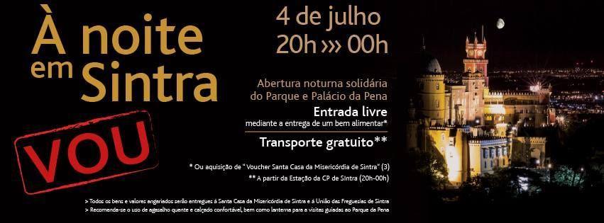 """My memories, my world ...: """"À noite em Sintra"""" (divulgação de evento)"""