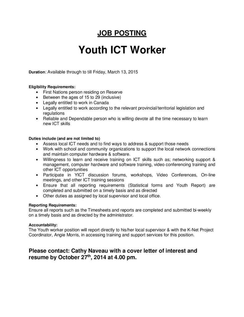 youth worker cover letter - Suzen.rabionetassociats.com