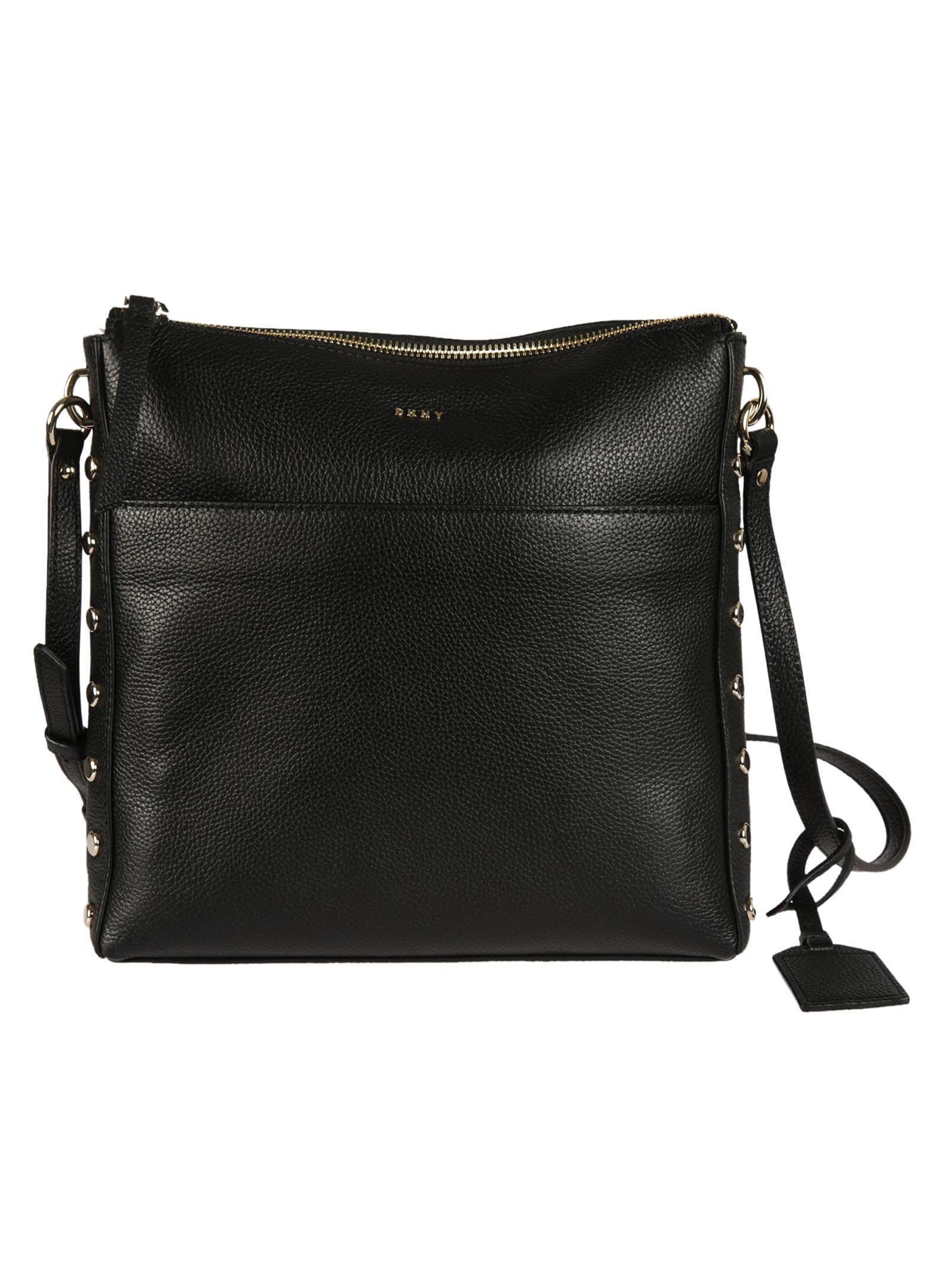 studded shoulder bag - Black DKNY Bulk Designs m7FA20UB