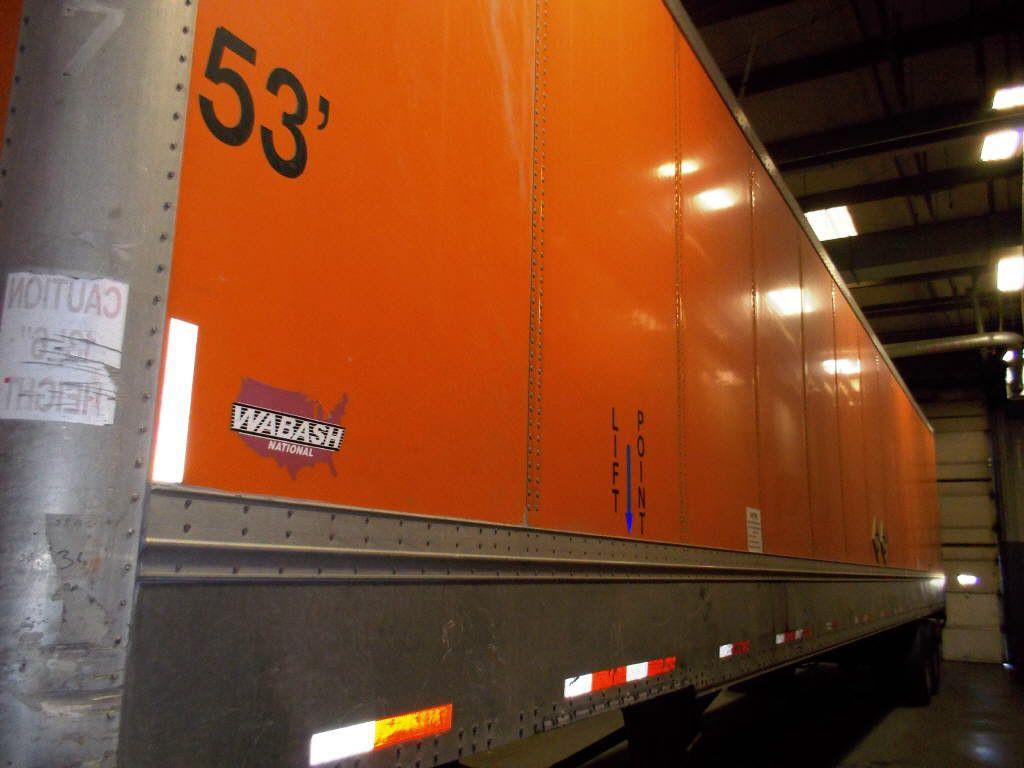 DealoftheDay 2004 Wabash 53ft Dry Van Trailer with spring