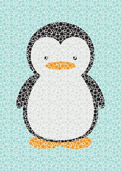 Penguin Dotz By Amanda Merlin
