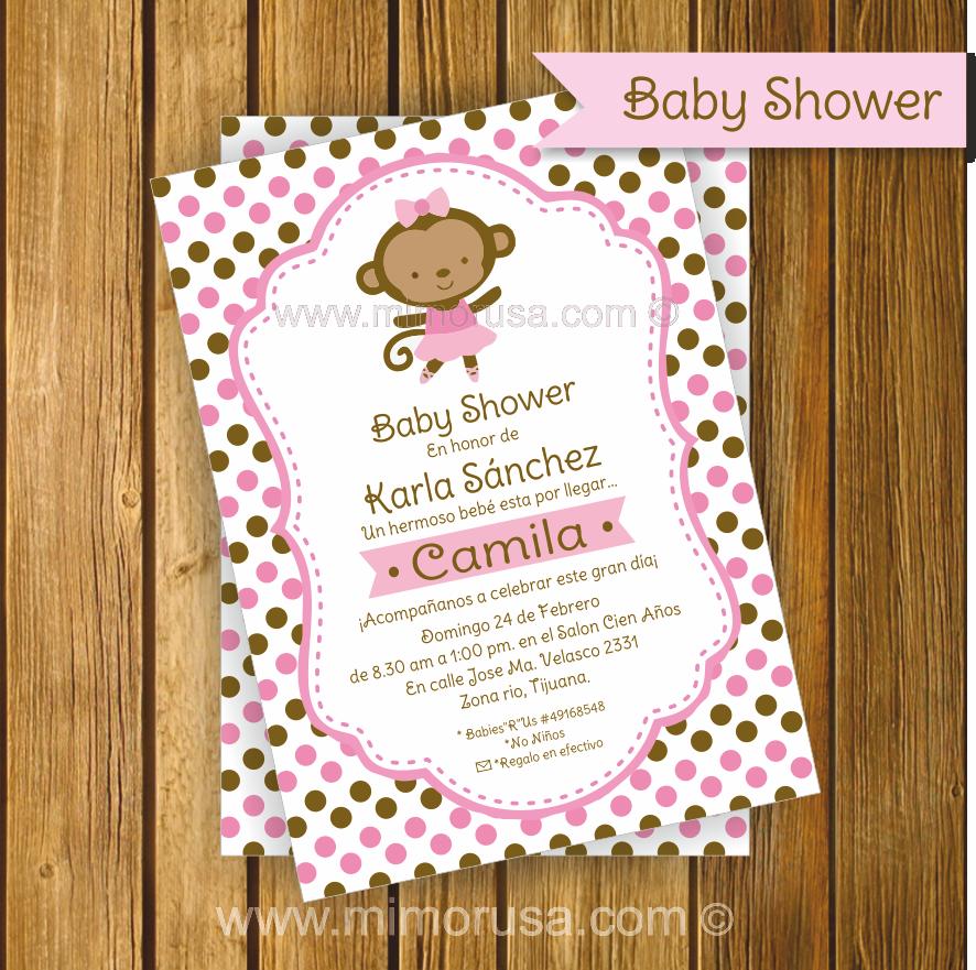 Invitaciones De Baby Shower Originales De Niña Buscar Con