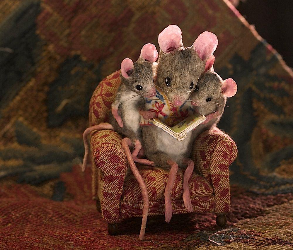 Мышь с мышонком картинки