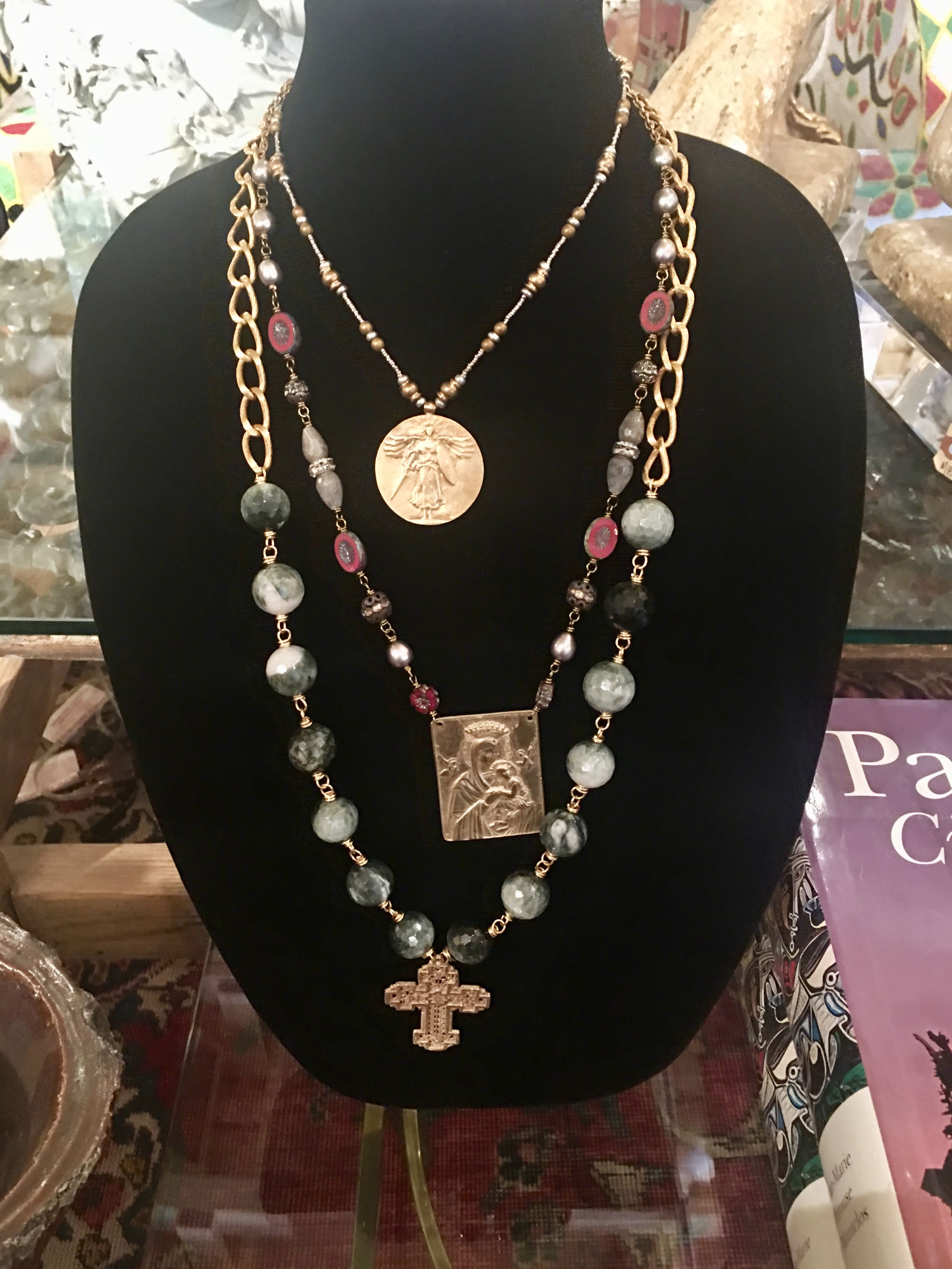 Andrea Barnett Jewelry With Beautiful Czechoslovakian Beads and